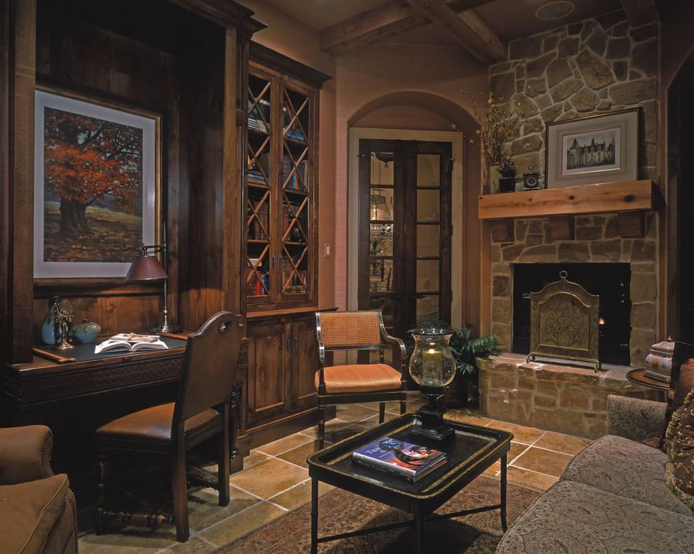 复古书房装修设计